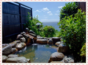 絶景貸切露天風呂のイメージ