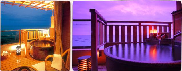 海一望10畳 陶器製露天風呂付客室イメージ
